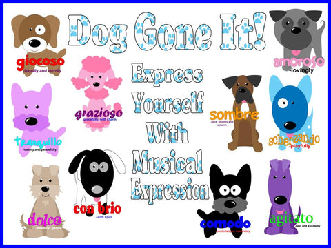Dog Gone It Musical Expression Music Bulletin Board