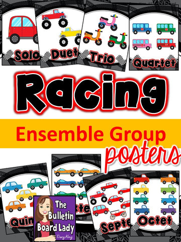 Ensemble Posters - Racing Theme
