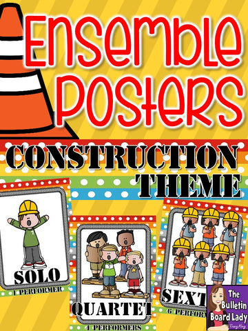 Ensemble Posters Construction Theme