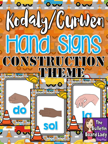 Kodaly/Curwen Hand Signs