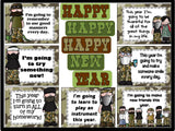 Happy Happy Happy New Year Duck Dynasty Bulletin Board