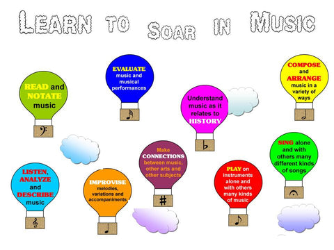 Learn to Soar in Music