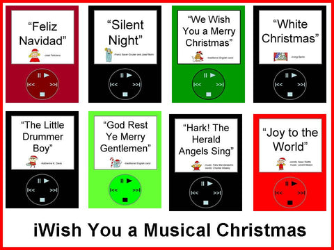 iWish You a Musical Christmas Bulletin Board