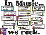 In Music...We Rock Bulletin Board