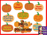 Patch of Politeness Bulletin Board
