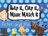 Rap It, Clap It, Music Match It - Peter and the Wolf