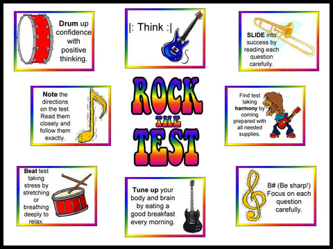 Rock the Test Bulletin Board