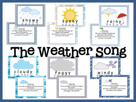 Weather Songs and Bulletin Board