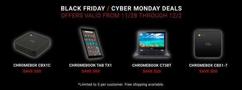 CTL's 2019 Black Friday + Cyber Monday Deals!