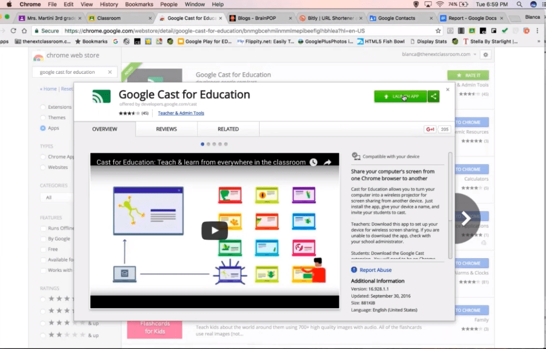 Google Classroom Advanced Webinar with CTL
