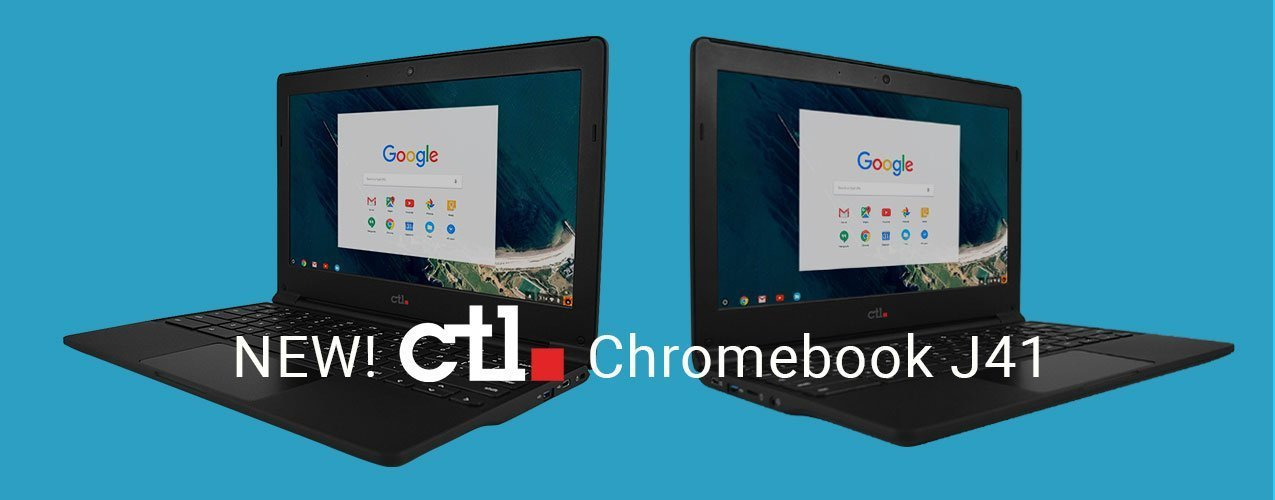 New CTL Chromebook J41 Joins the Lineup of CTL's Chromebooks for Education