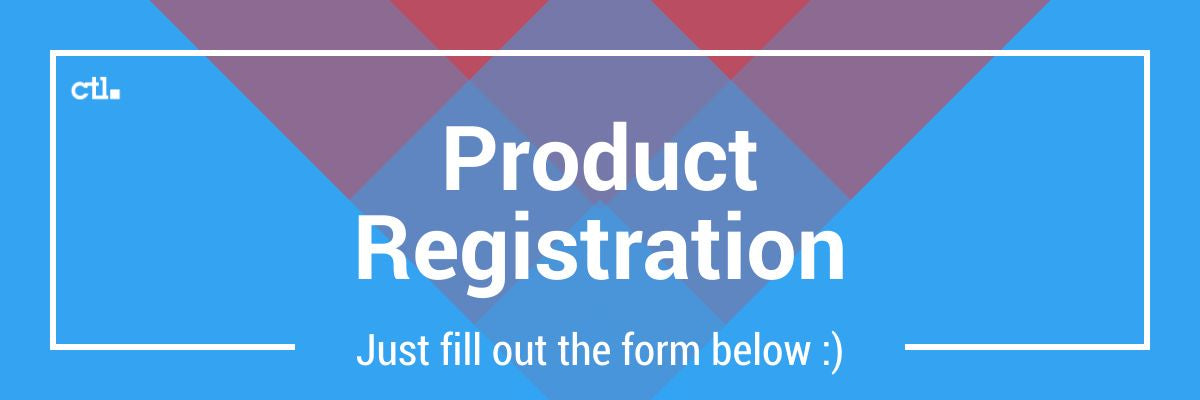 CTL Product Registration
