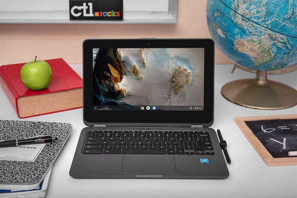 CTL Chromebook NL71TW-X2 (360 degree convertible, touch, EMR Pen, 4/32)