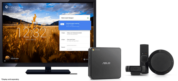 Google Chromebox for Meetings - by ASUS