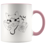 Cat Call Coffee Mug