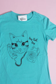 Cat Call- Teal