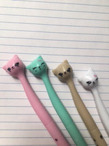 Cute Kitty Pen Set
