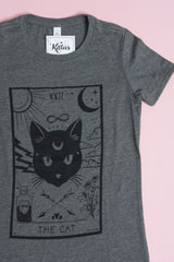 The Cat- Heather Grey