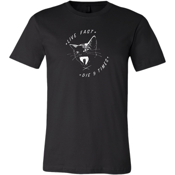 Men's Live Fast, Ojo!   Black