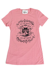 Cats are Forever- Heathered Pink