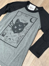 The CAT - Grey Raglan