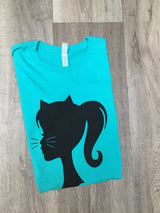 Pretty Kitty- Teal