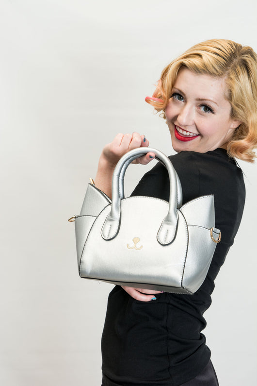 Kitty Purse - Silver