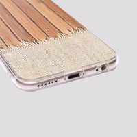 Wooden Table iPhone Case