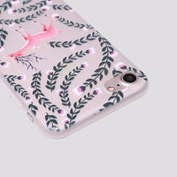 iPhone Love for a Fawn Silicone Case