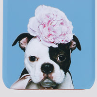 iPhone Puppies in Full Bloom Hard Shell Matte Case