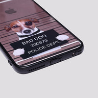 iPhone Rebel Dog Clear Gel with Rubber Bumper Case