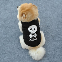 Killer Skull Dog Shirt