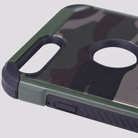 iPhone TPU+PC Camouflage Case
