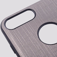 iPhone Leather Hard Back Case