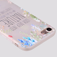iPhone Love for Quotes Silicone Case
