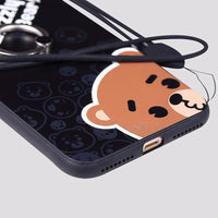 Bear & Duck Grizzly Custom iPhone Case