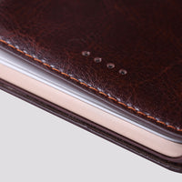 iPhone Saddle Brown Leather Case