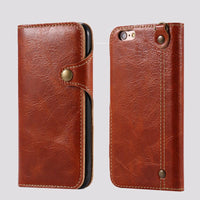 Snap Clip Leather iPhone Case