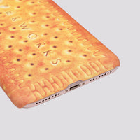 iPhone Biscuit Inspired Ultra Matte Slim Hard Case