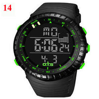 OTS Digital Waterproof Sports Watch for Men