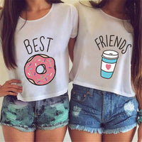 Casual 'Best Friends' T-Shirt by Trovido