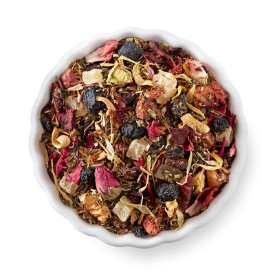 PINEAPPLE BERRY BLUE TEA BLEND - Prime Cuppa Corporation