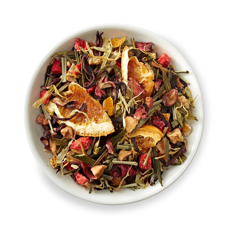 STRAWBERRY GRAPEFRUIT KUKICHA GREEN TEA - Prime Cuppa - The Tea Shop