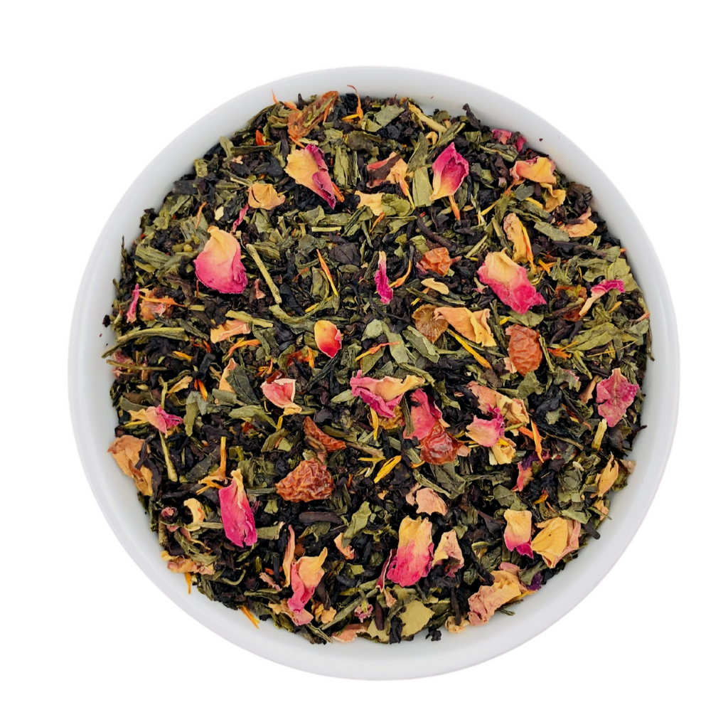 MIDNIGHT ROSE GREEN TEA - Prime Cuppa - The Tea Shop