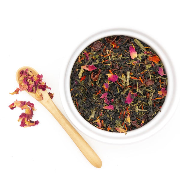 MIDNIGHT ROSE BLACK TEA - Prime Cuppa - The Tea Shop