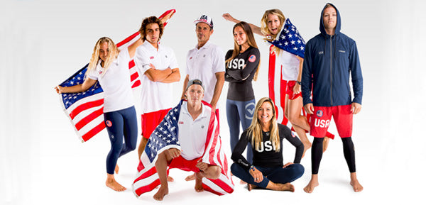 VIRUS PARTNERS WITH USA SUP/PADDLEBOARD TEAM