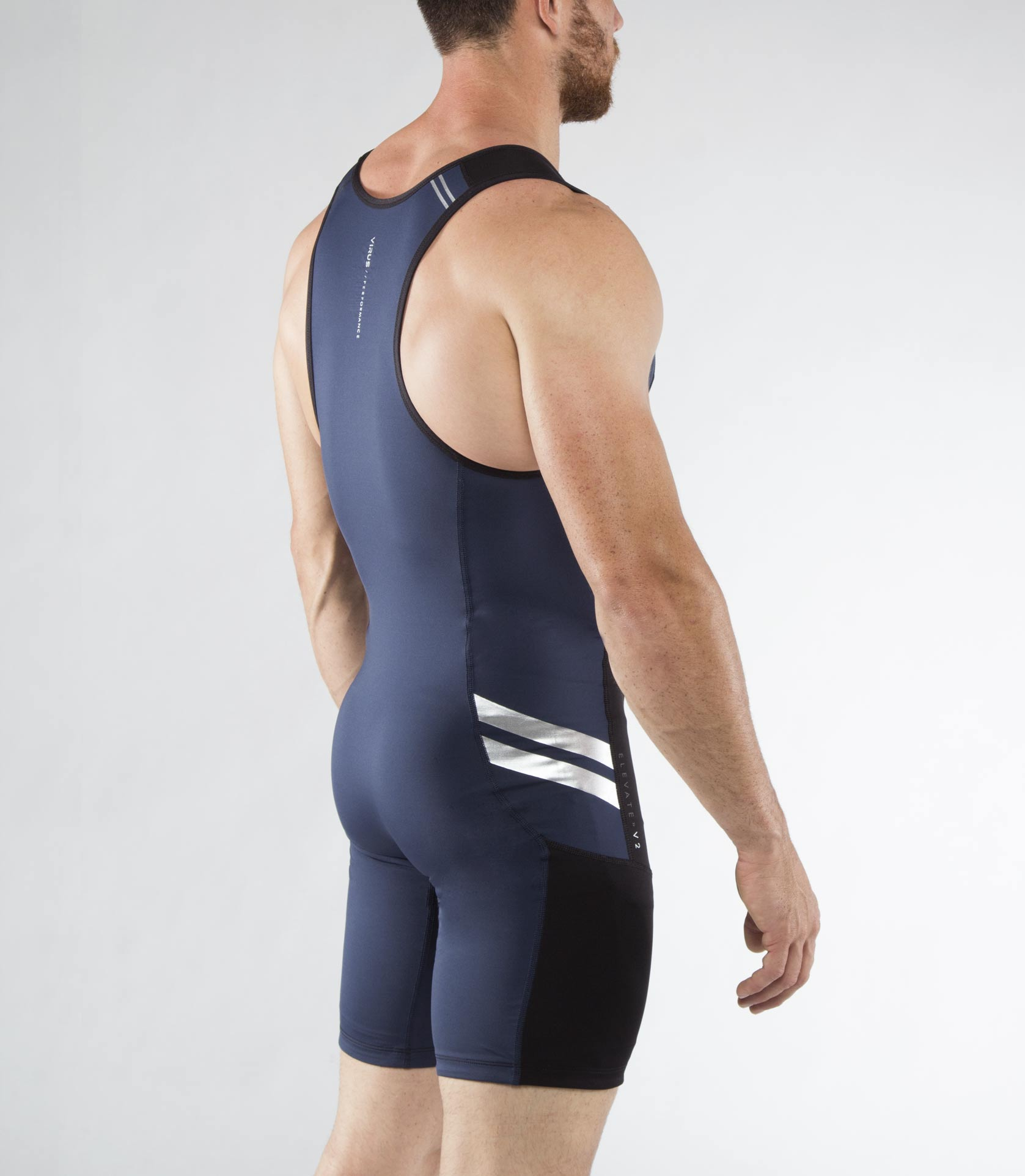 Men's Bioceramic ELEVATE II Weightlifting Singlet (Au12)