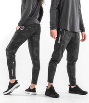 EAu21.5 | Bioceramic™ V2 Compression Pants - Limited Edition BLACKCAMO GOLD