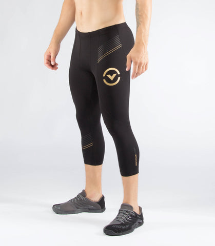 Sio17 | Men's Stay Warm Compression 3/4 Length Tech Pant
