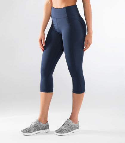EAu53.5 | Lux with Mesh Bioceramic™ 7/8 Length Pant